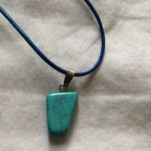 Turquoise necklace with free gifts 🎁